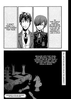 Black Butler I realized Sebastian was alive when I saw this pic because Sebastian's Ciels knight and he's still standing Black Butler Quotes, Black Butler 3, Black Butler Anime, Ciel Phantomhive, Yes My Lord, Otaku, Sebastian X Ciel, Best Anime Shows, Black Butler Characters