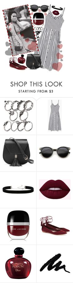 """""""Be like Lucy!"""" by sanela-enter ❤ liked on Polyvore featuring MANGO, Yoki, ZeroUV, 2028, Marc Jacobs, Loeffler Randall and Christian Dior"""