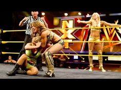NXT Summer Rae & Sasha Banks vs. Paige & Emma www.matrakvideo.com