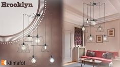 H νέα σειρά φωτιστικών #Brooklyn θα αλλάξει την αισθητική του χώρου σας από τη πρώτη ημέρα!  #Klimafot  #Esoterikos_fotismos #design #Klimafot ❤❤❤❤ Track Lighting, Brooklyn, Chandelier, Ceiling Lights, Home Decor, Candelabra, Decoration Home, Room Decor, Chandeliers