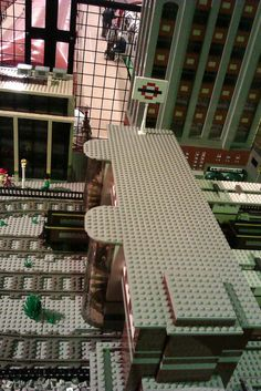 Lego model Tube Station - http://london-underground.blogspot.com/2012/03/photos-open-weekend-at-museum-depot.html