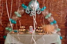 Table Balloon Arch - Under The Sea