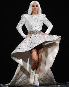 Costume changes: Lady Gaga wore some daring designs during her concert... // Lady Gaga commençait sa tournée en Floride le 4 mai et c'est le 4 juillet qu'elle sera au Festival d'été de Québec sur la Scène Bell des plaines d'Abraham !