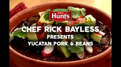It's time to up-level your Pork and Beans game. With the help of Hunts and renowned Chef Rick Bayless, learn how to easily make this Yucatan Pork and Beans dish that's sure to be a hit at any gathering. Visit hunts.com to find this and other delicious recipes.