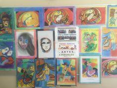 PINTURA HUMANA ESTILIZADA Materia : ARTES VISUALES Alumnos de 1er de Secundaria
