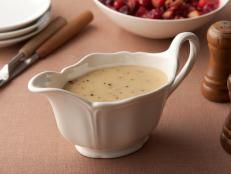 How to Make Turkey Pan Gravy : Food Network | Photos | Food Network