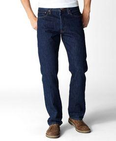 Levis 501 Original Fit Jeans Rinse