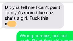 Man trying to paint his daughter's bedroom texts the wrong number and finds the perfect friend.
