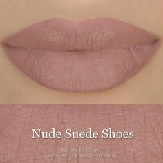 Liquid Lipstick Nude Suede Shoes Matte Attack Liquid Lipstick (55 BRL) ❤ liked on Polyvore featuring lip
