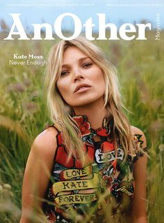 Kate Moss by Alasdair McLellan for Another Magazine Fall Winter 2014-2015
