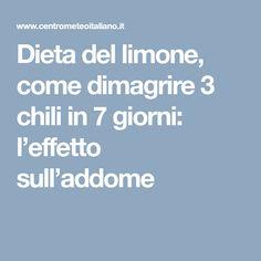 Dieta del limone, come dimagrire 3 chili in 7 giorni: l'effetto sull'addome
