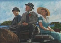 Denis Carr Artist - wonderful painting - fan of this Page Almost twenty years in the making, THE QUIET MAN is perhaps the most personal film of director John Ford. The Quiet Man, Maureen O'hara, John Ford, The Twenties, Celtic, Ireland, Paintings, Fan, Queen