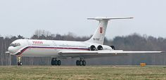 Previous Russian presidential planes included IL-62M: