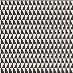 BoråsTapeter Trapez tapetti mustavalkoinen Geometric Wallpaper, Backrounds, Scandinavian Design, Color, Black, Black People, Colour, Nordic Design, Colors