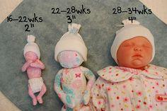 No-Sew hat update #preemie #angelbaby #bereavement