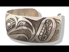 How to hand engrave Native American Indian jewelry.