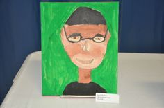 self-portrait by a third grader