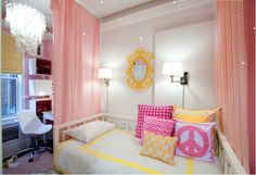 quarto-infantil-feminino-amarelo-rosa
