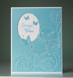 Darice Butterfly Card