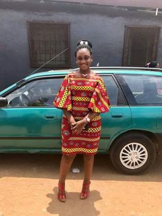 Online Hub For Fashion Beauty And Health: Fabulously Stylish Ankara Short Gown Dress For The Fashionistas Ankara Short Gown Dresses, Short African Dresses, Short Gowns, African Print Dresses, Ankara Dress, African Fashion Ankara, African Inspired Fashion, Latest African Fashion Dresses, African Print Fashion