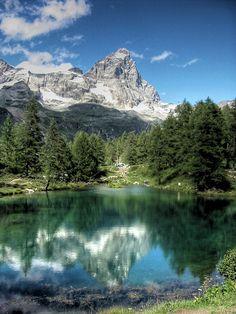 Valle d'Aosta . Italy