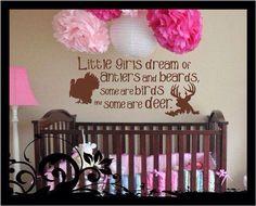 Baby girl country nursery