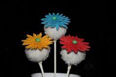 Daisy Cake Pops!!