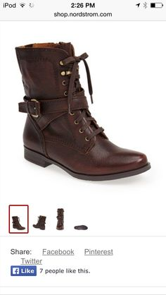 combat boots from Nordstrom