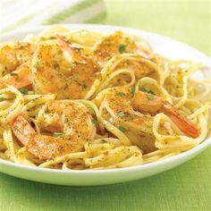 Garlic Butter Shrimp Scampi: Shrimp Scampi like it's done in a restaurant -- garlicky and buttery, and served over linguine.