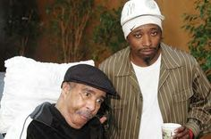 23.) Richard Pryor poses with Eddie Griffin shortly before his death on December 10, 2005.