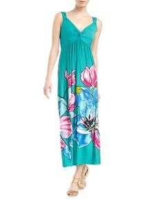 Floral-Print Maxi Dress by Neiman Marcus at Last Call by Neiman Marcus.