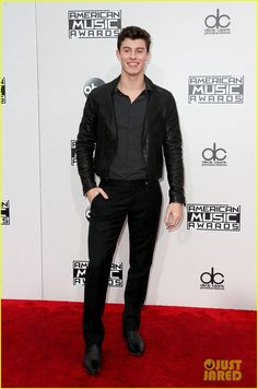 shawn mendes amas 2016 red carpet 01