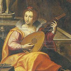 """1580s or 90s Giovanni Battista Trotti, detto """"il Malosso, detail from Allegory"""