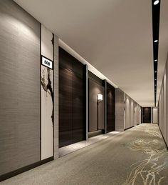 Hotel Grims Grenka, Oslo, Norway by Kristin Jarmund Architects Hotel Corridor, Hall Hotel, Hotel Hallway, Hotel Door, Hotel Lobby, Hotel Room Design, Lobby Design, Restaurant Hotel, Wine Hotel