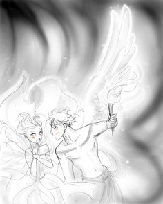 Macaria and Thanatos <3