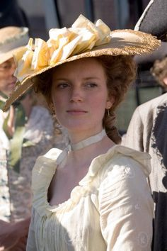 "Colonial dress. Sarah Polley playing Abigail ""Nabby"" Adams in John Adams mini-series."