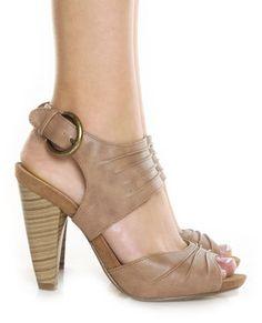 Nude/tan heels.