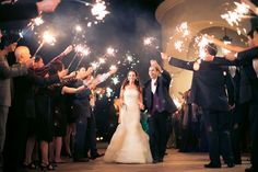 Wedding sparklers for the big send-off!