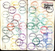Travel Tattoo Passport Trips 17 Ideas For 2019 National Park Passport, Us National Parks, Escalante National Monument, Usa Holidays, Best Travel Accessories, Living On The Road, Passport Stamps, Family Road Trips, Travel Maps