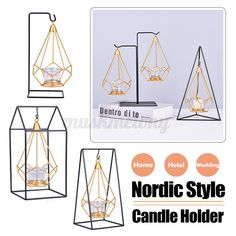 Luxurious Candle Holder Candle Stick Dinner Table Romantic Wedding  #candle #holders #accessories (ebay link) Warm Home Decor, Romantic Home Decor, Home Decor Colors, Colorful Decor, Ceramic Oil Burner, Luxury Candles, Hotel Wedding, Table Wedding, Hanging Candles