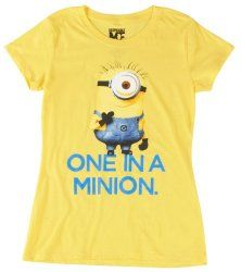 Despicable Me 2 Women's One in a Minion T-Shirt