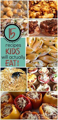 Make something your kid will actually eat!! --Here are 15 of them!