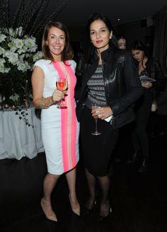 Creative director Sara Madderson with Yasmin Mills
