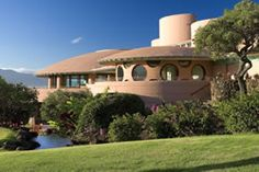 The King Kamehameha Golf Club in Maui - we had a Tee Time here but never made it - sigh - next time - but love the Cool Frank Lloyd Wright clubhouse!  so amazing -