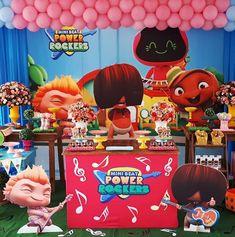 Baby Beat, Baby Shawer, Rocket Power, Rockers, Baby Rocker, Ideas Para Fiestas, Childrens Party, Decoration, Birthday
