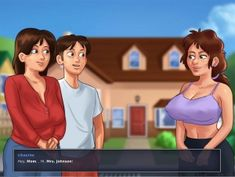 Summertime Saga - PlayGamesOnline Saga, Summertime, Family Guy, Guys, Fictional Characters, Fantasy Characters, Sons, Boys, Griffins