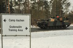 GRAFENWOEHR, Germany — More than 50 U. Army Abrams Main Battle Tanks and Bradley Infantry Fighting Vehicles rolled into the Grafenwoehr . Mainz Germany, Bavaria Germany, Army Day, Us Army, Battle Tank, United States Army, Panzer, Cold War