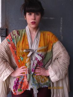 Anybody need ideas for kimono-inspired clothing for the AFWJ May convention? (Dress and Maya 2012 by Rakefet Levy)