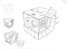 Robot in laputa Container, Robotics