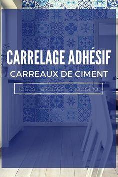 Le Carrelage Adhésif Carreaux de Ciment : Un Relooking Facile & Pas Cher ?  http://www.homelisty.com/carrelage-adhesif-carreaux-ciment/